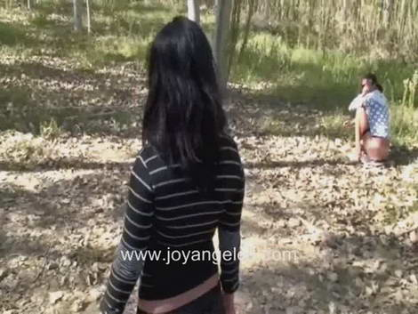 estefania scat 3some