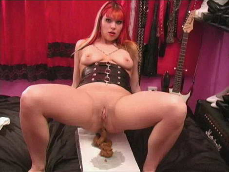 russian dominatrix training male slaves as human toilets