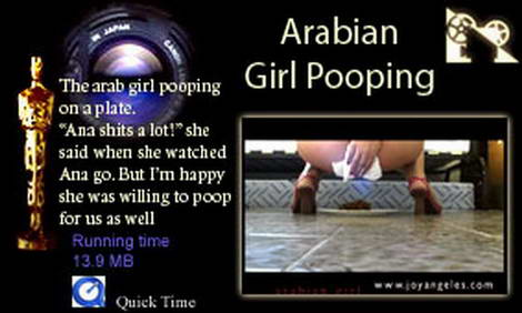pooing girls
