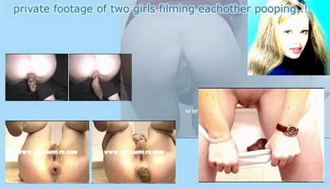 home video of girls shitting