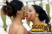 scat in her mouth