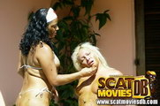 explicit female scat