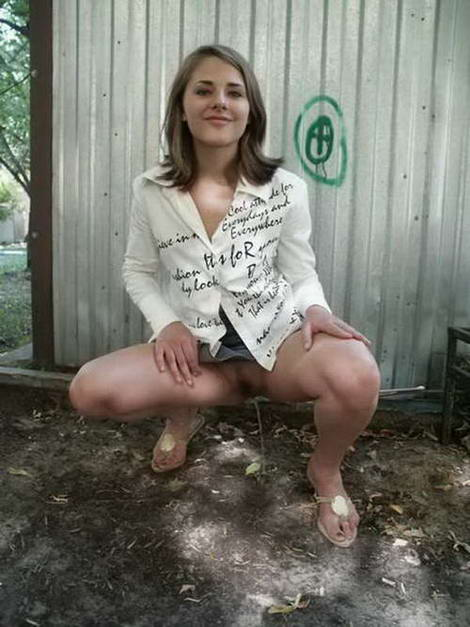 kinky pissing outdoors on video