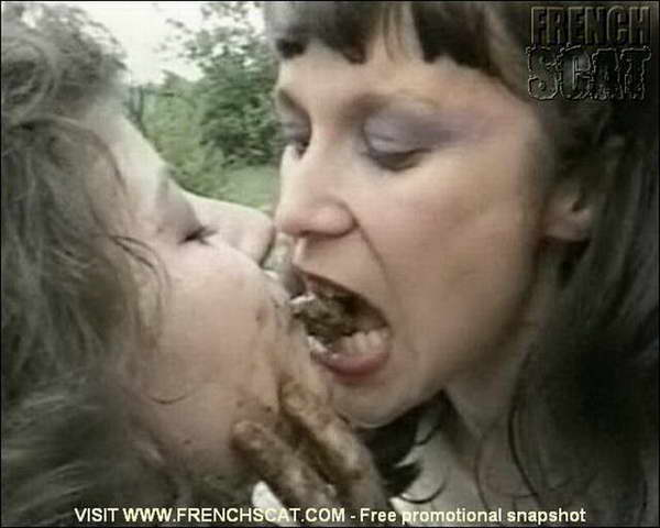 eating feces human