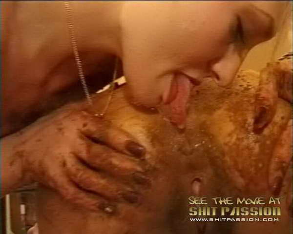 asian shit eating