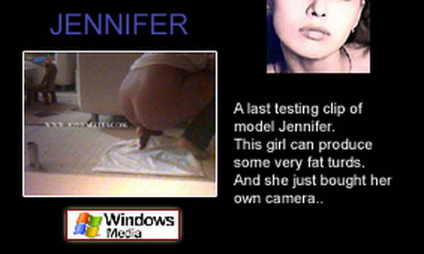 Poop video clips, scat pantie