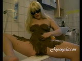 Piss and scat fetish with horny olga, free scat photos