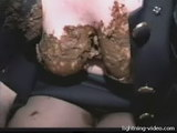 my dissolute brazilian girlfriends eat scat from my dirty shithole