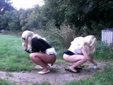 girls shitting on camera