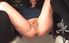 Amateur pooping
