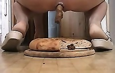 Chubby Girls Who Shit On Bread 2