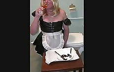 Nadia toilet maid TV