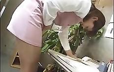 Japanese scat in panties - pooping woman