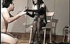 Shit eating toilet slave - Japan scat slave
