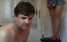 Amateur toilet slave feeding - scat eating husband