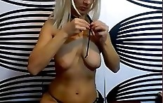 Pretty blonde babe pooping webcam chat - shit eating