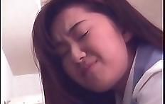 Shitting Japanese schoolgirl
