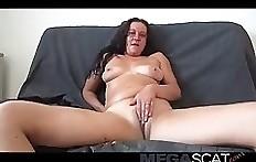 Shit eating female scat slut