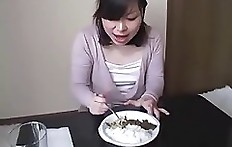 Japanese lunch, scat eating - piss drinking